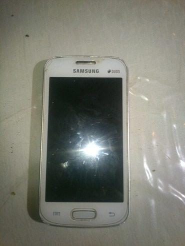 Bakı şəhərində Samsung gt s7262.normal vezyetde.daşı tezedi.ekranında çat filan