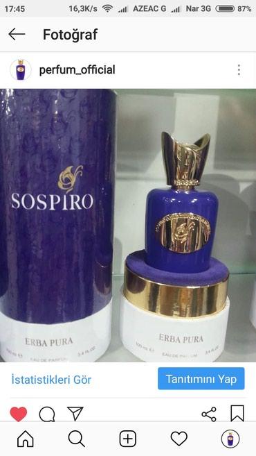 Xırdalan şəhərində Saspiro etir perfum official