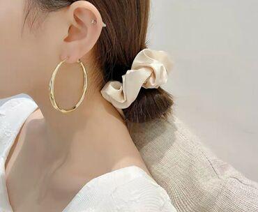 Модные тренд украшения - стильные серьги. Иглы серебро 925 пробы