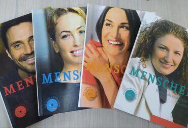российские журналы в Кыргызстан: Продаю книги Sicher (B1+,В2.1, С1.1,С1.2) и menschen все уровни от