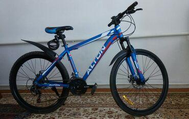 Спорт и хобби - Заречное: Горный спортивный велосипед легкий алюминь рама на 17 колёса 26