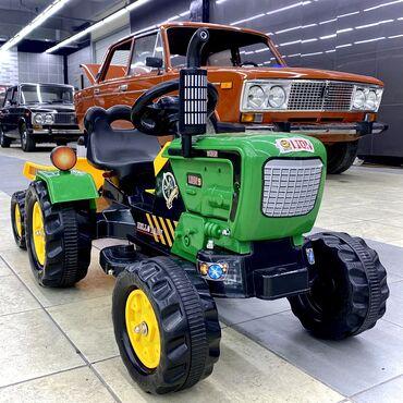 689 объявлений: Детская электромашинкаВеселый трактор как мы его называем еще с
