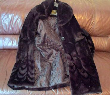 Zensko odelo - Srbija: SUPER POVOLJNO - Zenska Bunda Crna Odlična ženska bunda, za prave dame