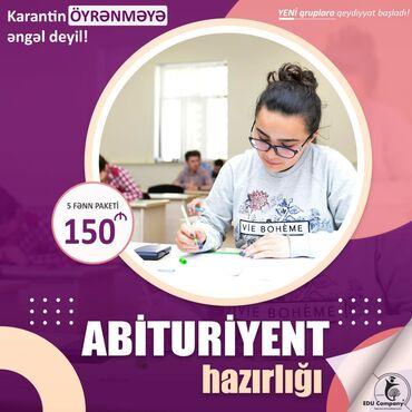 kurs - Azərbaycan: Online Abituriyent Hazırlığı Whatsapp yazın