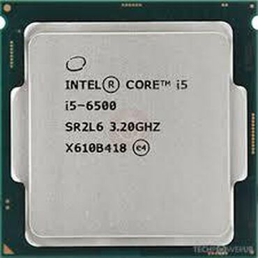 Prosessorlar - Azərbaycan: Intel Core i5-6500 Processor6M Cache, up to 3.60 GHz#of Cores: 4#of