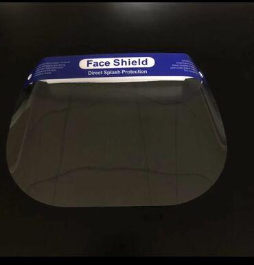 Защитная экран маска Многоразовая В наличии 200 шт. Основное