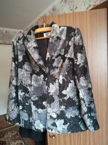 Пиджак велюровый размер 50 52 новый в Бишкек