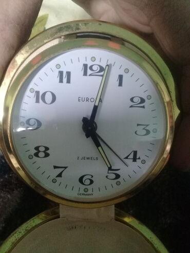 Спорт и хобби - Загатала: Срочно продам часы-будильник состояние отличное 1960 год оригинал