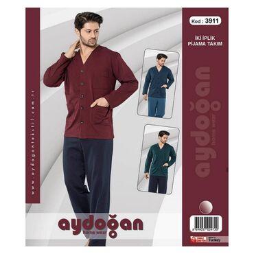 Домашние костюмы - Кыргызстан: Мужские пижамы.  Производство Турция