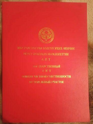 Недвижимость - Тынчтык: 4000 соток, Для строительства, Срочная продажа, Красная книга