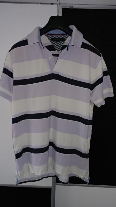 Muška odeća | Bor: Tommy Hilfiger polo majica sa kragnom, M velicina. Nosena je par