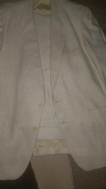 Carape bez prstiju - Kraljevo: Musko bez krem odelo 50 velicina jednom noseno bez ostecenja