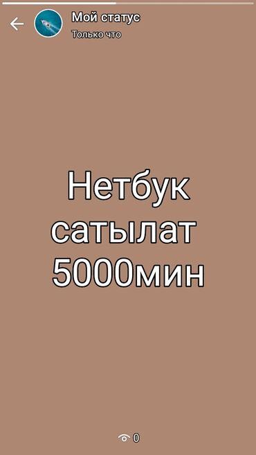 компьютеры за 5000 в Кыргызстан: Нетбук 5000сом