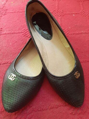 туфли-черные-женские в Кыргызстан: Супер удобные, красивые балетки. Производство Турция 100%