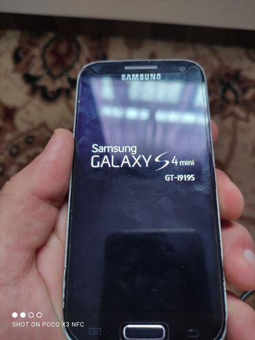 телефон fly bl9205 в Азербайджан: Samsung s4 mini.Telefon işlekdir .problemi zaryatkanı az saxlayır və