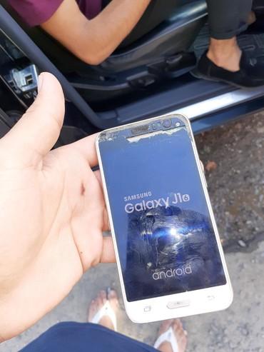 Samsung Ağstafada: Təmirə ehtiyacı var Samsung Galaxy J1 2016 qızılı