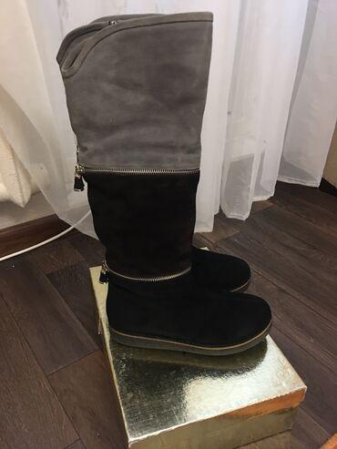 детские шапки на меху в Кыргызстан: Срочно! Продаю новые итальянские зимние сапоги Maria Moro, на