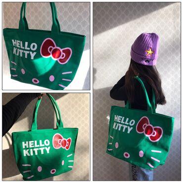 Флипчарты ukrboards для письма маркером - Кыргызстан: Сумка шопер hello kitty в корейском стиле.Качество очень