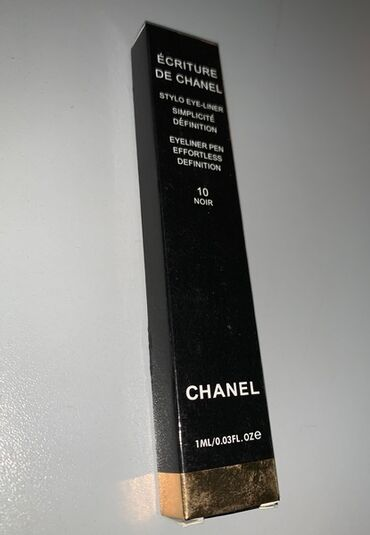 "chanel 5 в Кыргызстан: Подводка-фломастер Chanel ""Ecriture De Chanel"" 1 мл (реплика)"