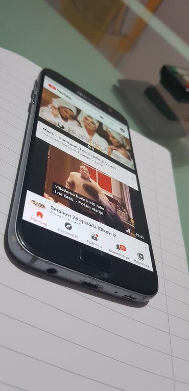 Mobilni telefoni i aksesoari - Kovacica: Samsung S7 Stanje na slikama zamena ili kes, u zameni skuplji, ekran