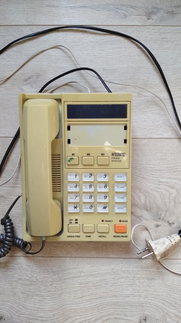 Телефония - Кыргызстан: Домашний телефон. Определяет номера входящих звонков. Все в комплекте