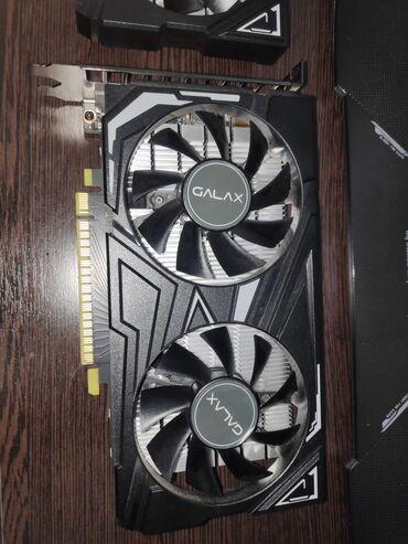 Продаю Видеокарту Geforce 1650 4Gb GDDR6 128bitДвухкулернаяСостояние