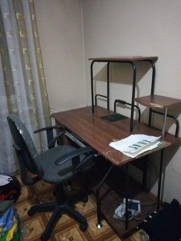 стол с двумя стульями в Кыргызстан: Компьютерный стол и стул