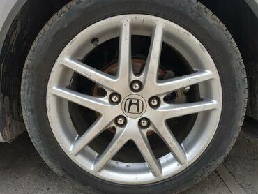 Автозапчасти и аксессуары в Ак-Джол: Продаю диски без шин на Хонда Аккорд R17вылет 5/114/4цена 21000