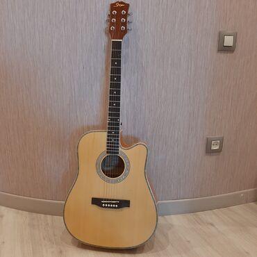 Гитары - Азербайджан: Gitara(made in USA)В подарок предоставляется:провод,ремешек,запасные