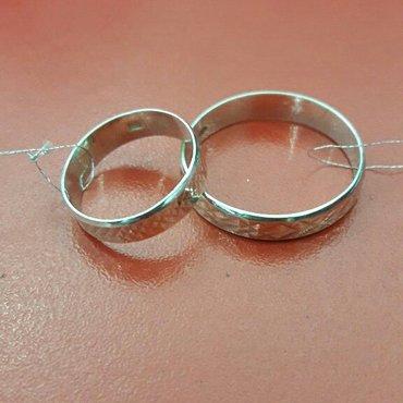 обручальные кольцо из серебра проба 925 производитель турция в Бишкек
