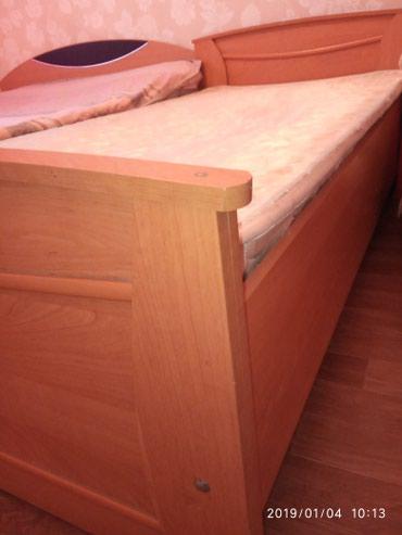 Кровать полторашка. длина 2метра ,ширина 1метр. Качество. в Бишкек