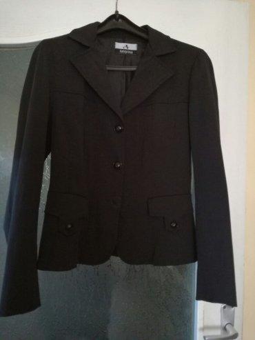 Crni sako strukiran velicina m - Smederevo