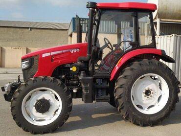Kənd təsərrüfatı maşınları - Azərbaycan: Traktor YTO 854 ( 85 at gücü kondisionerli ) : Tam satış qiyməti