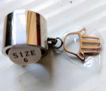 винтажные куклы в Азербайджан: Винтажное кольцо-подвеска из нержавеющей стали (привозное)
