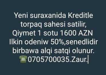 Bakı şəhərində Satış 54 sot Kənd təsərrüfatı