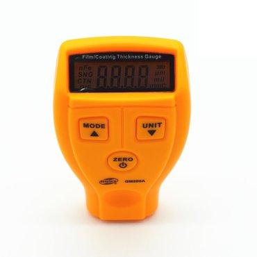 Толщиномер предназначен для локального измерения толщины лакокрасочных