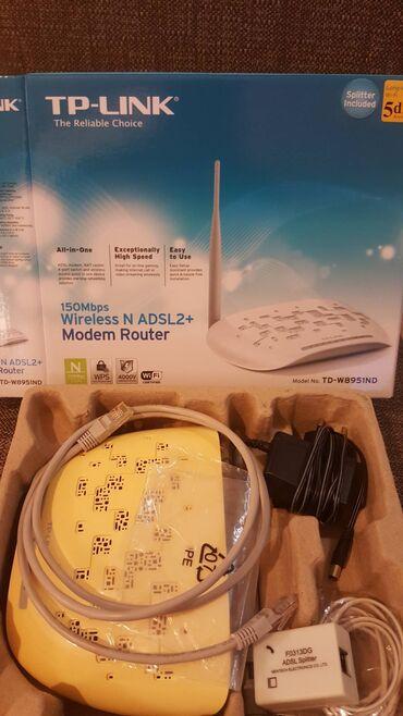 Wi-Fi роутер TP-LINK TD-W8951NDОсновные характеристикиТип связи