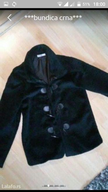 Crna bundica kao nova...M..par puta obucena... - Vranje