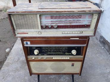 Советские радиоприемники РИГОНДА и Кантата 203 не рабочем состоянии в Бишкек