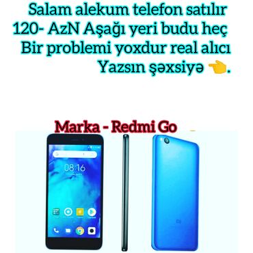 Электроника в Тертер: Б/у Xiaomi Redmi Go 16 ГБ Голубой