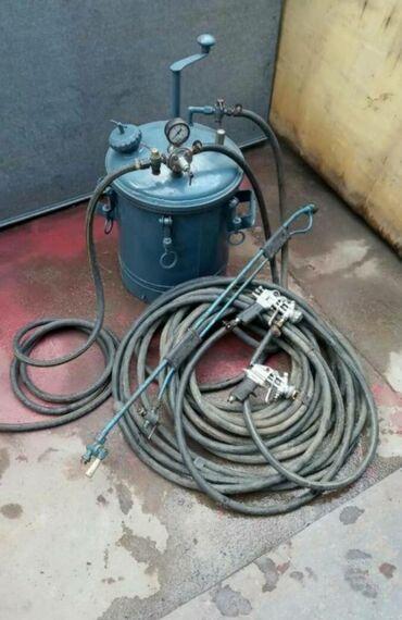 сигнальный пистолет в Кыргызстан: Краскораспылительный агрегат СО-5АС малярной удочкой и двумя
