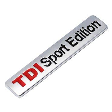 Samolepljiva metalna pločica - TDI Sport Edition - Zrenjanin