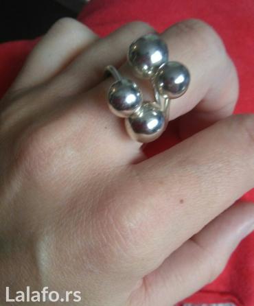 Srebreni prsten ( nenošen, nov) - Kragujevac