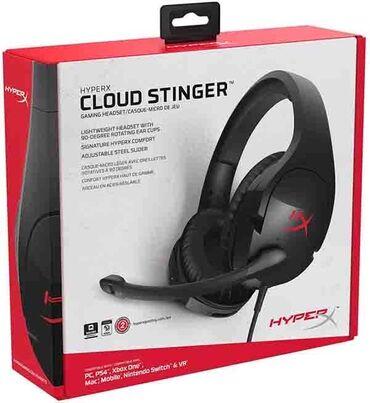 наушники хуавей проводные в Кыргызстан: Игровые наушники HyperX Cloud Stinger б.у в идеальном состоянии. Очень
