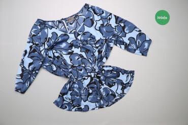 Рубашки и блузы - Цвет: Голубой - Киев: Жіноча блузка з принтом Bonprix    Довжина: 68 см Ширина плечей: 47 см