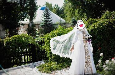 uggi na platforme в Кыргызстан: Свадебное платье в национальном стиле для мусульманки. Одевала только
