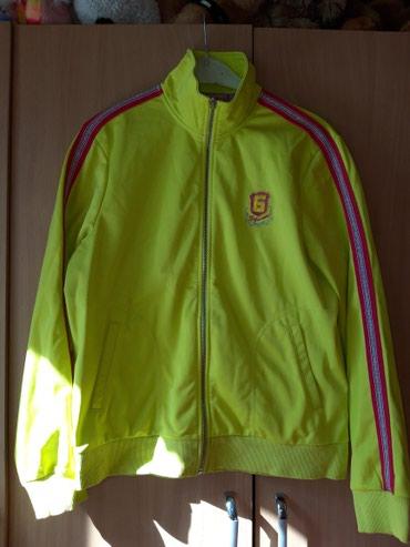 Женская Олимпийка б/у ярко лимонного цвета!размер 46-48 в Бишкек