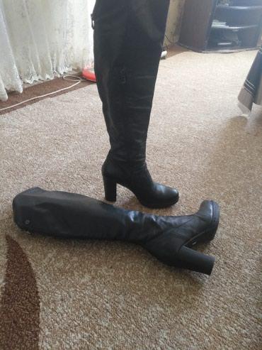 Деми сапоги кожа Италия раз.36 одета несколько раз в Бишкек