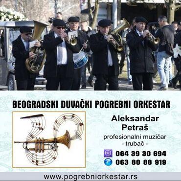 Ujedno dosta - Srbija: Zvanični pogrebni orkestar bleh muzika za sahrane trubači
