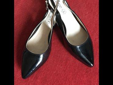 NOVE crne sandale u broju 38 - Trstenik
